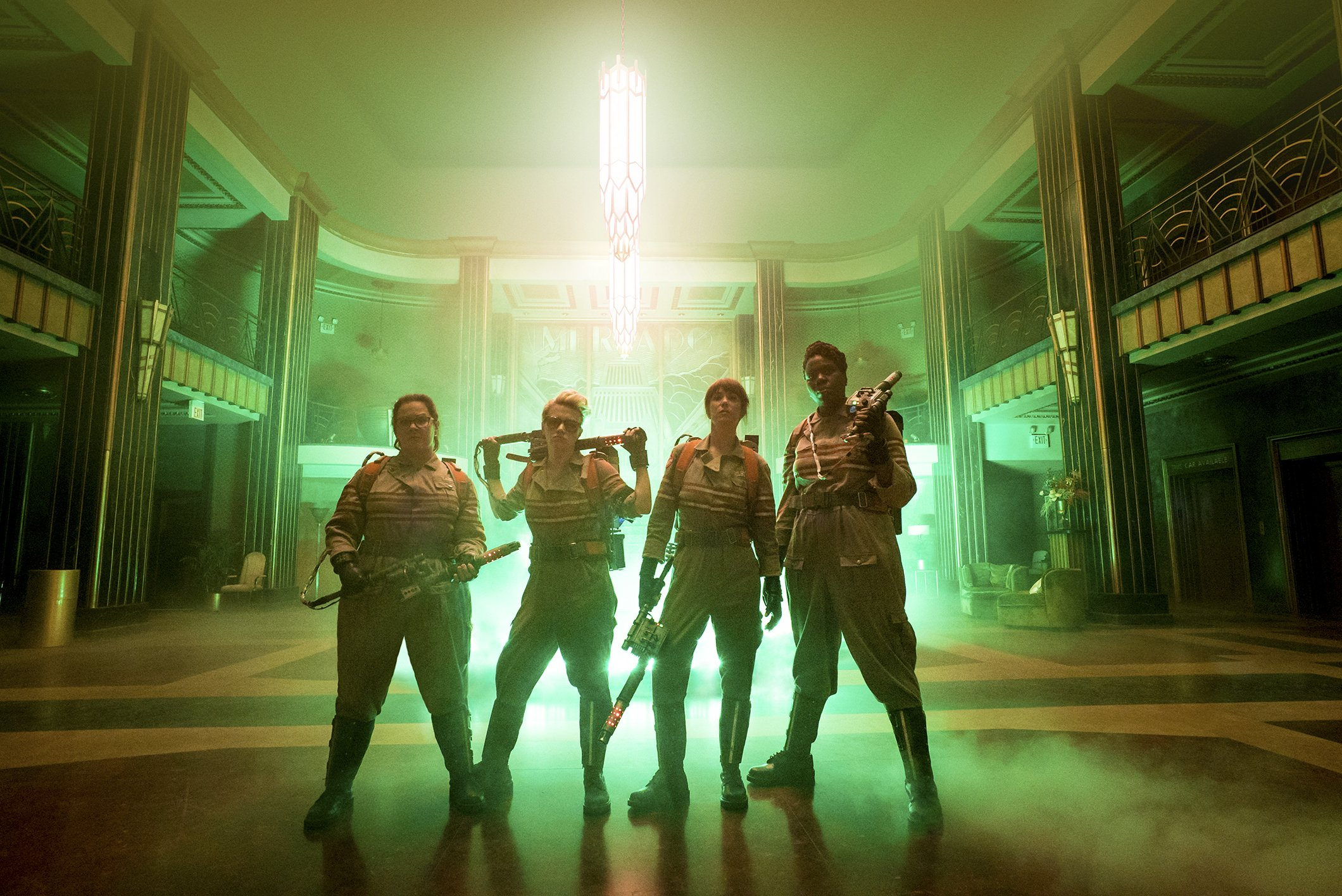 First Look At The All New Ghostbusters - OC Movie Reviews - Movie Reviews, Movie News, Documentary Reviews, Short Films, Short Film Reviews, Trailers, Movie Trailers, Interviews, film reviews, film news, hollywood, indie films, documentaries