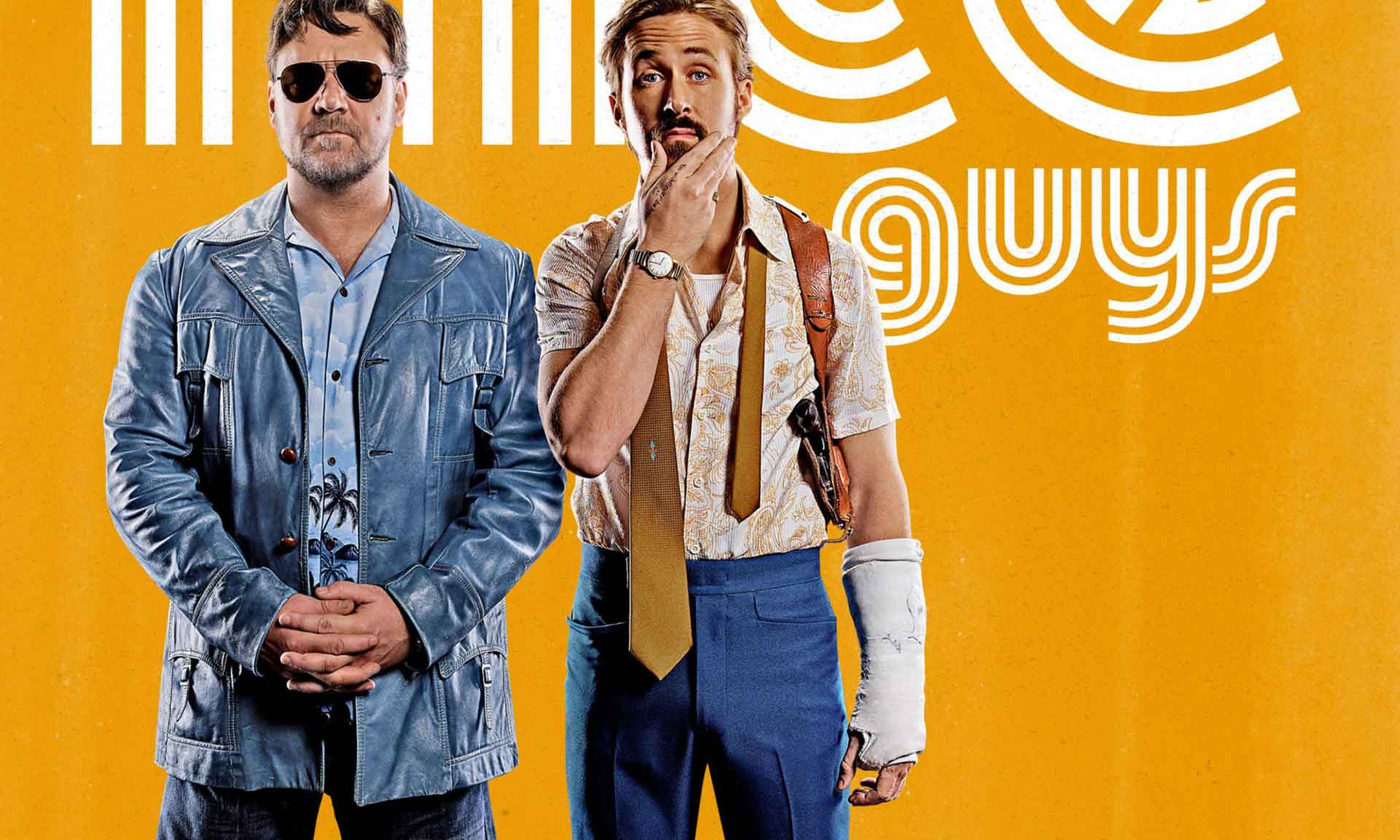 The Nice Guys Poster Is Here - OC Movie Reviews - Movie Reviews, Movie News, Documentary Reviews, Short Films, Short Film Reviews, Trailers, Movie Trailers, Interviews, film reviews, film news, hollywood, indie films, documentaries
