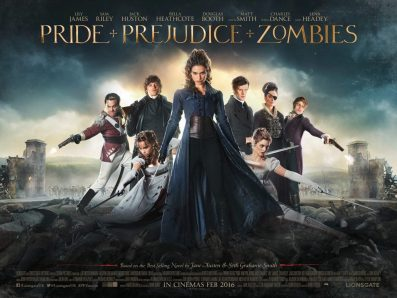 Pride And Prejudice And Zombies Review - OC Movie Reviews - Movie Reviews, Movie News, Documentary Reviews, Short Films, Short Film Reviews, Trailers, Movie Trailers, Interviews, film reviews, film news, hollywood, indie films, documentaries