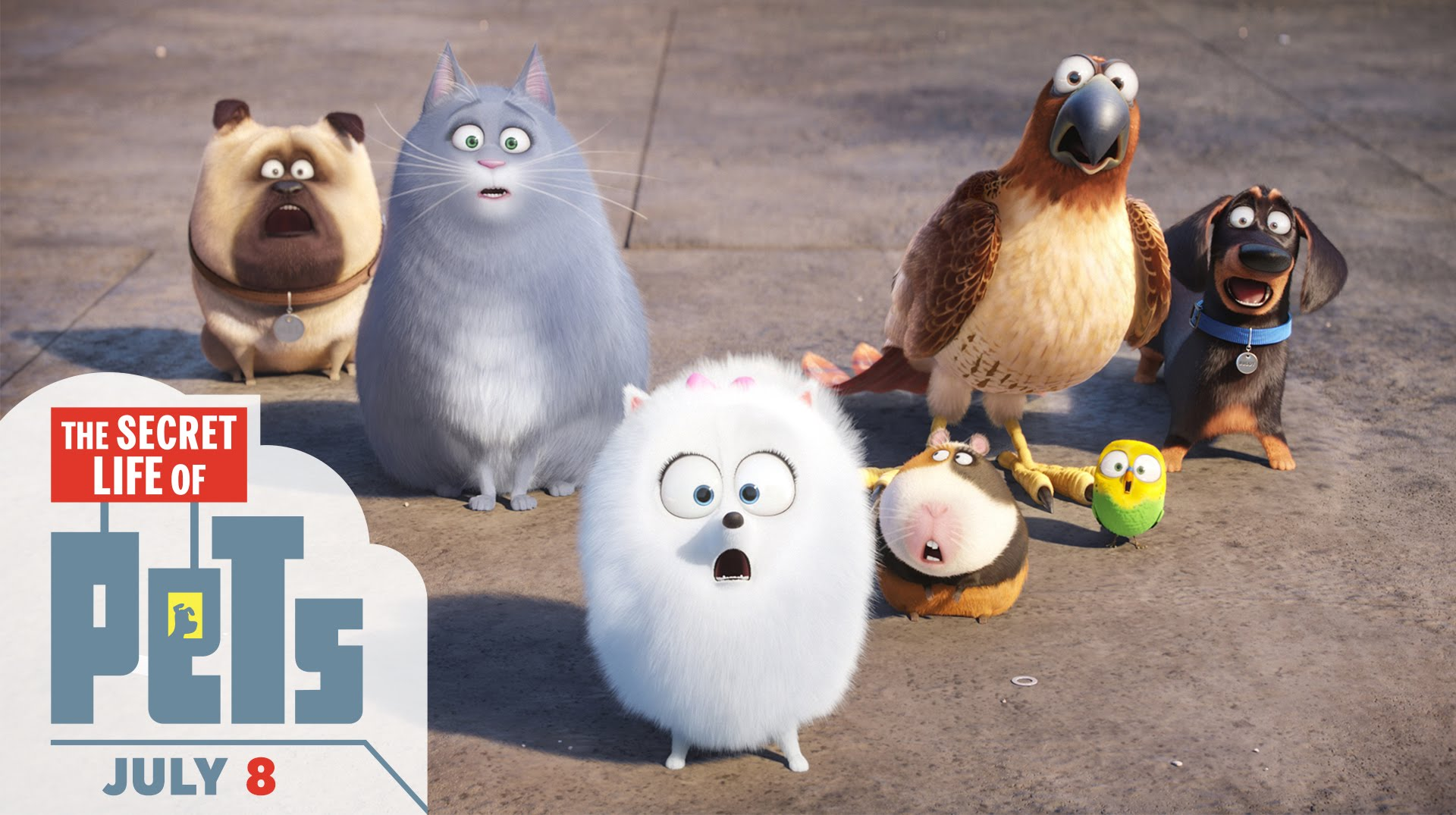 The Secret Life Of Pets Review - OC Movie Reviews - Movie Reviews, Movie News, Documentary Reviews, Short Films, Short Film Reviews, Trailers, Movie Trailers, Interviews, film reviews, film news, hollywood, indie films, documentaries