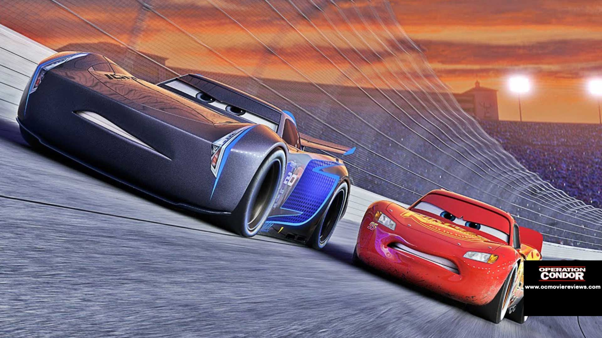 Cars 3 Review – It's Replacement Time - OC Movie Reviews - Movie Reviews, Movie News, Documentary Reviews, Short Films, Short Film Reviews, Trailers, Movie Trailers, Interviews, film reviews, film news, hollywood, indie films, documentaries