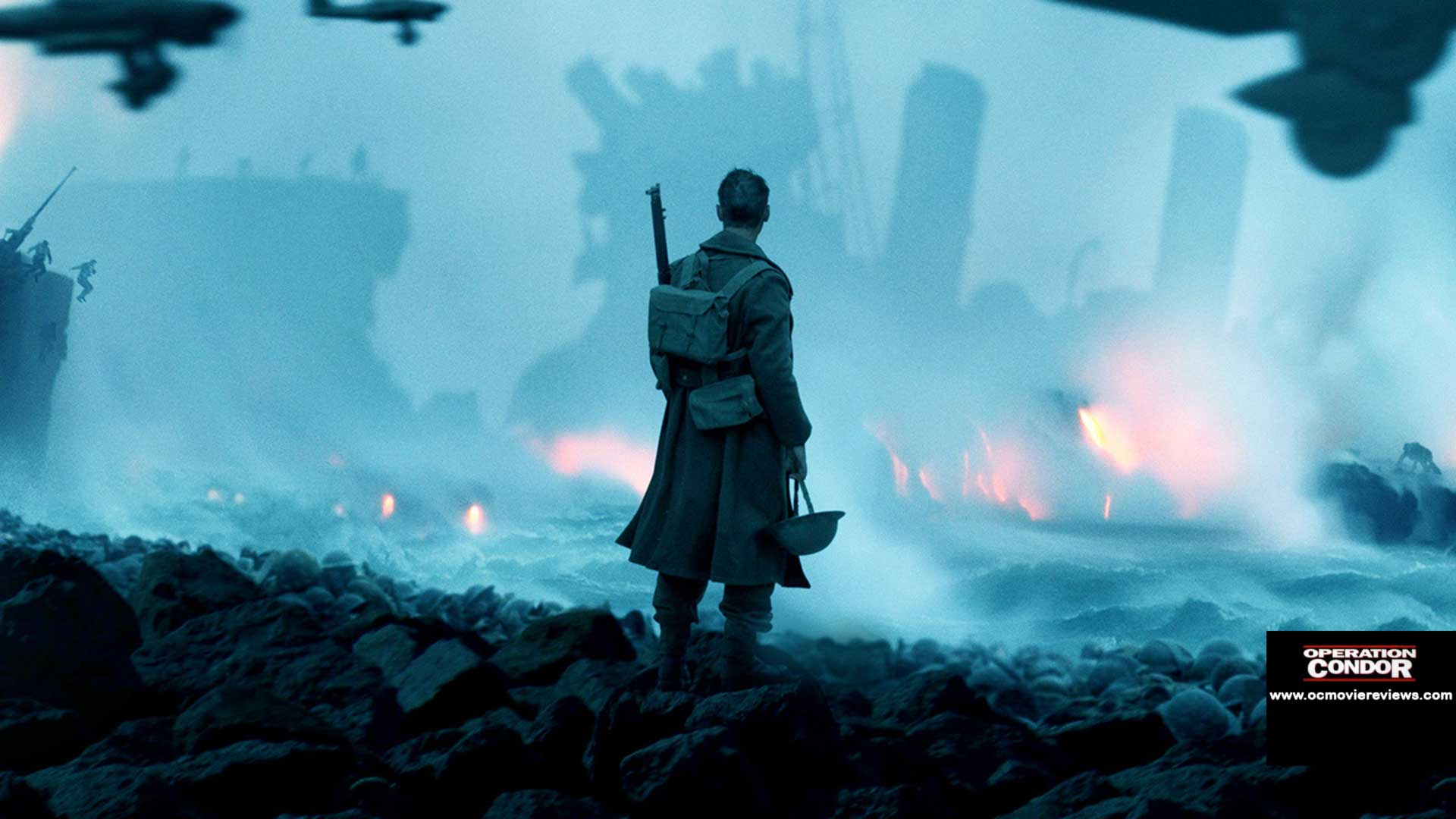 Dunkirk Review - OC Movie Reviews - Movie Reviews, Movie News, Documentary Reviews, Short Films, Short Film Reviews, Trailers, Movie Trailers, Interviews, film reviews, film news, hollywood, indie films, documentaries