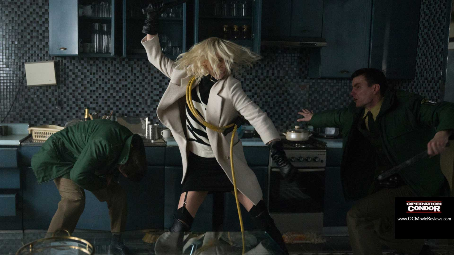 Atomic Blonde Review - OC Movie Reviews - Movie Reviews, Movie News, Documentary Reviews, Short Films, Short Film Reviews, Trailers, Movie Trailers, Interviews, film reviews, film news, hollywood, indie films, documentaries