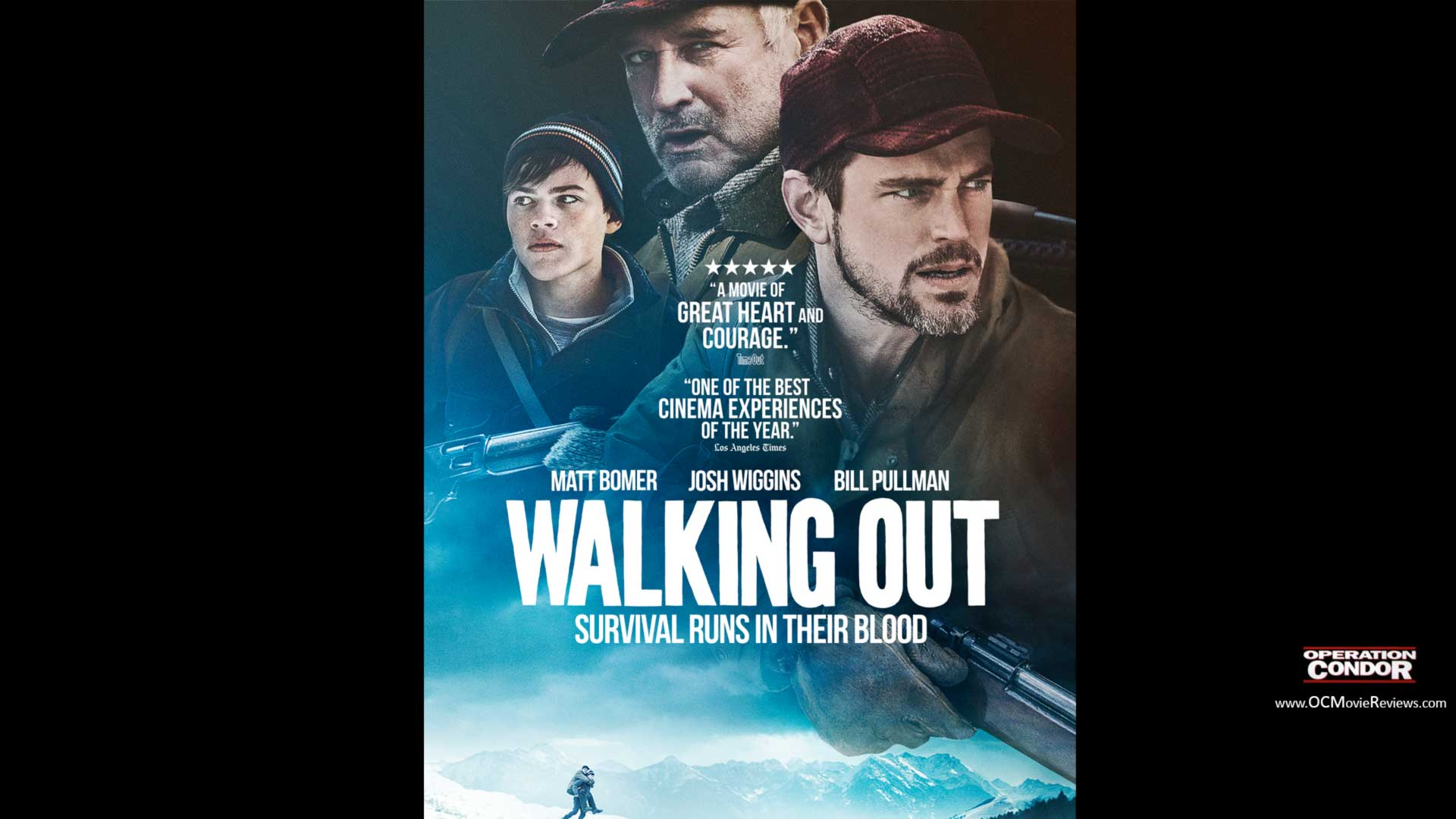Walking Out Trailer - OC Movie Reviews - Movie Reviews, Movie News, Documentary Reviews, Short Films, Short Film Reviews, Trailers, Movie Trailers, Interviews, film reviews, film news, hollywood, indie films, documentaries