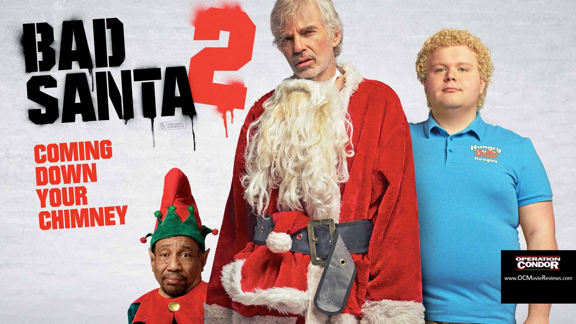 Bad Santa 2 Blu-ray Review – An F-Bomb Party In A Red Suit - OC Movie Reviews - Movie Reviews, Movie News, Documentary Reviews, Short Films, Short Film Reviews, Trailers, Movie Trailers, Interviews, film reviews, film news, hollywood, indie films, documentaries