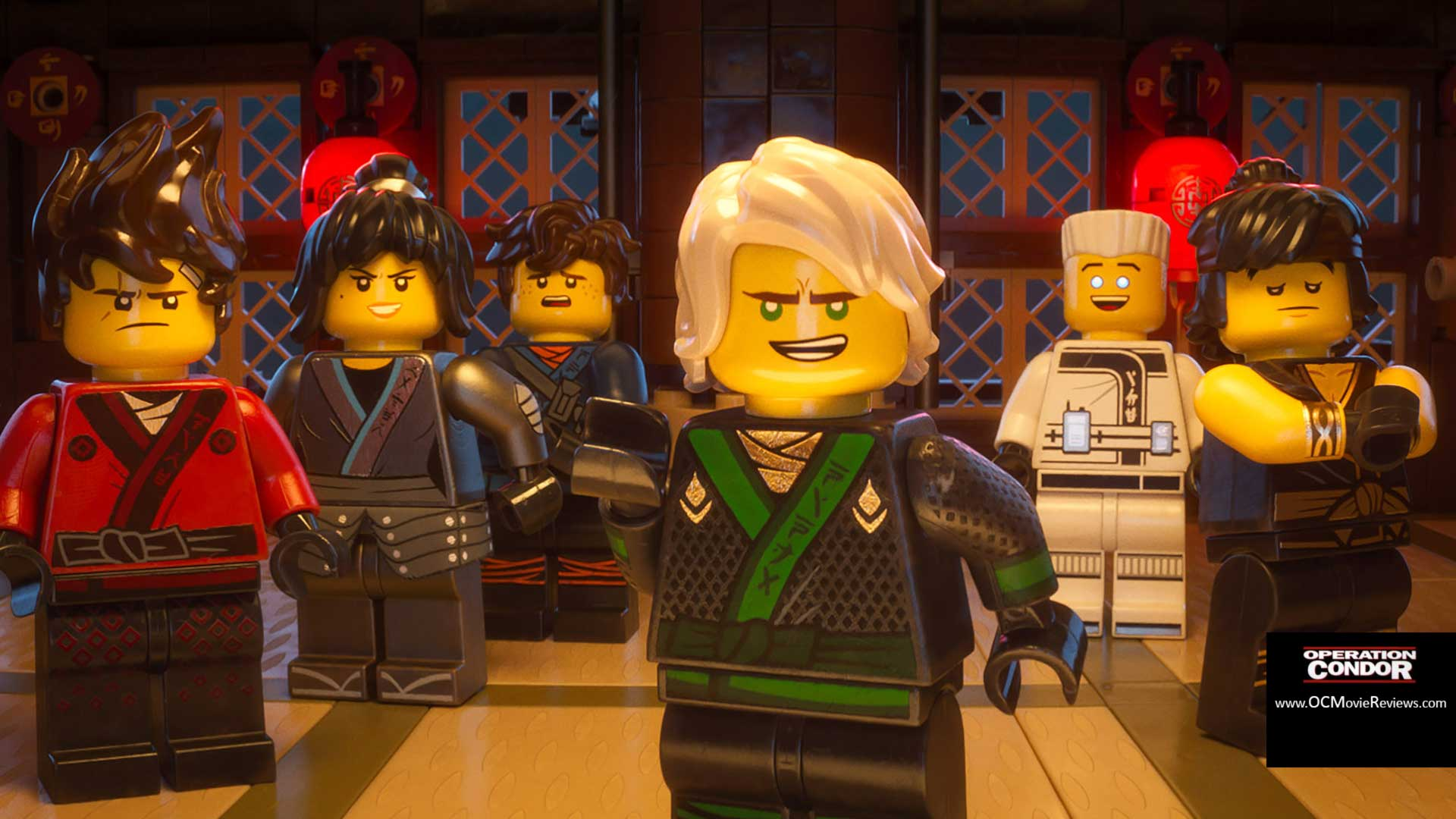 The Lego Ninjago Movie Review - OC Movie Reviews - Movie Reviews, Movie News, Documentary Reviews, Short Films, Short Film Reviews, Trailers, Movie Trailers, Interviews, film reviews, film news, hollywood, indie films, documentaries