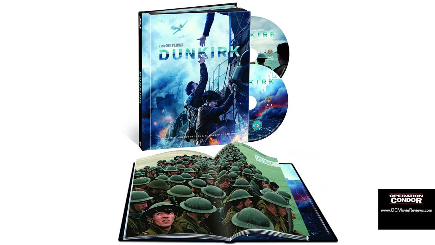 Dunkirk Limited Edition Filmbook Blu-ray Review – Is It Worth The Outlay? - OC Movie Reviews - Movie Reviews, Movie News, Documentary Reviews, Short Films, Short Film Reviews, Trailers, Movie Trailers, Interviews, film reviews, film news, hollywood, indie films, documentaries