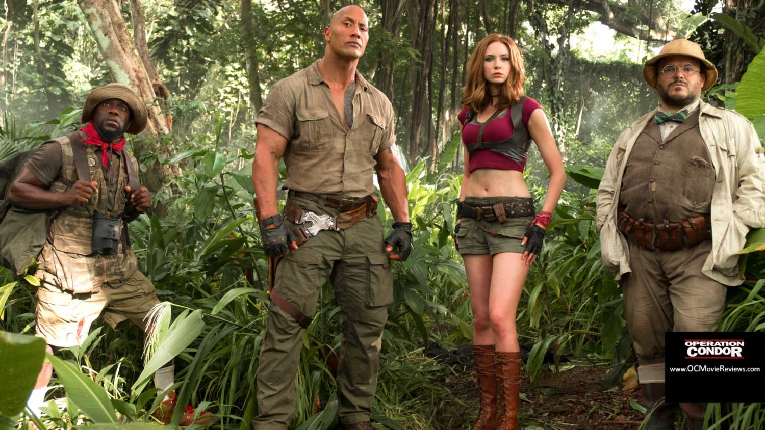 Jumanji: Welcome To The Jungle Review - OC Movie Reviews - Movie Reviews, Movie News, Documentary Reviews, Short Films, Short Film Reviews, Trailers, Movie Trailers, Interviews, film reviews, film news, hollywood, indie films, documentaries