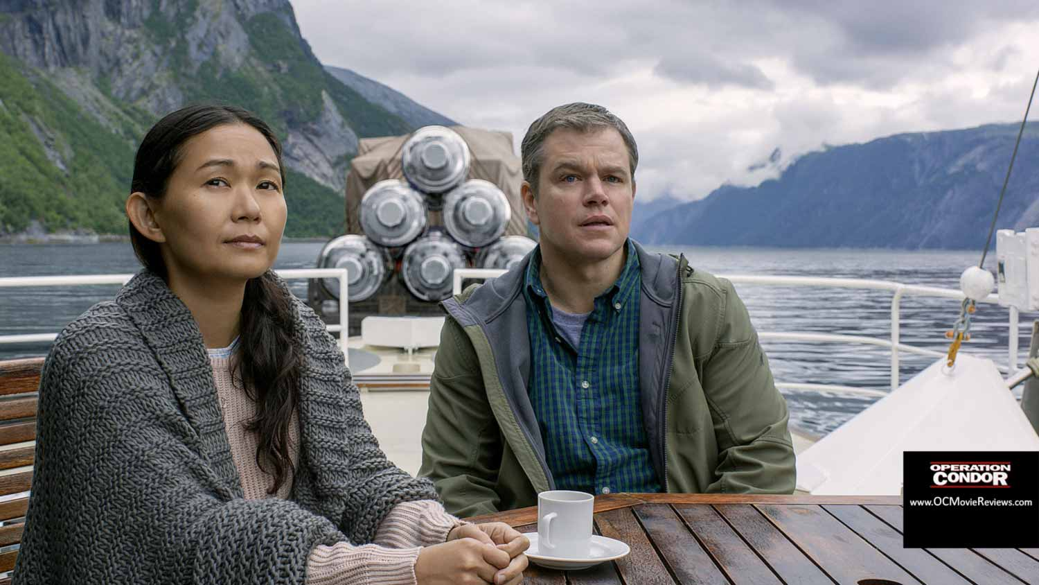 Downsizing Review – A Large Message From Small Stature - OC Movie Reviews - Movie Reviews, Movie News, Documentary Reviews, Short Films, Short Film Reviews, Trailers, Movie Trailers, Interviews, film reviews, film news, hollywood, indie films, documentaries