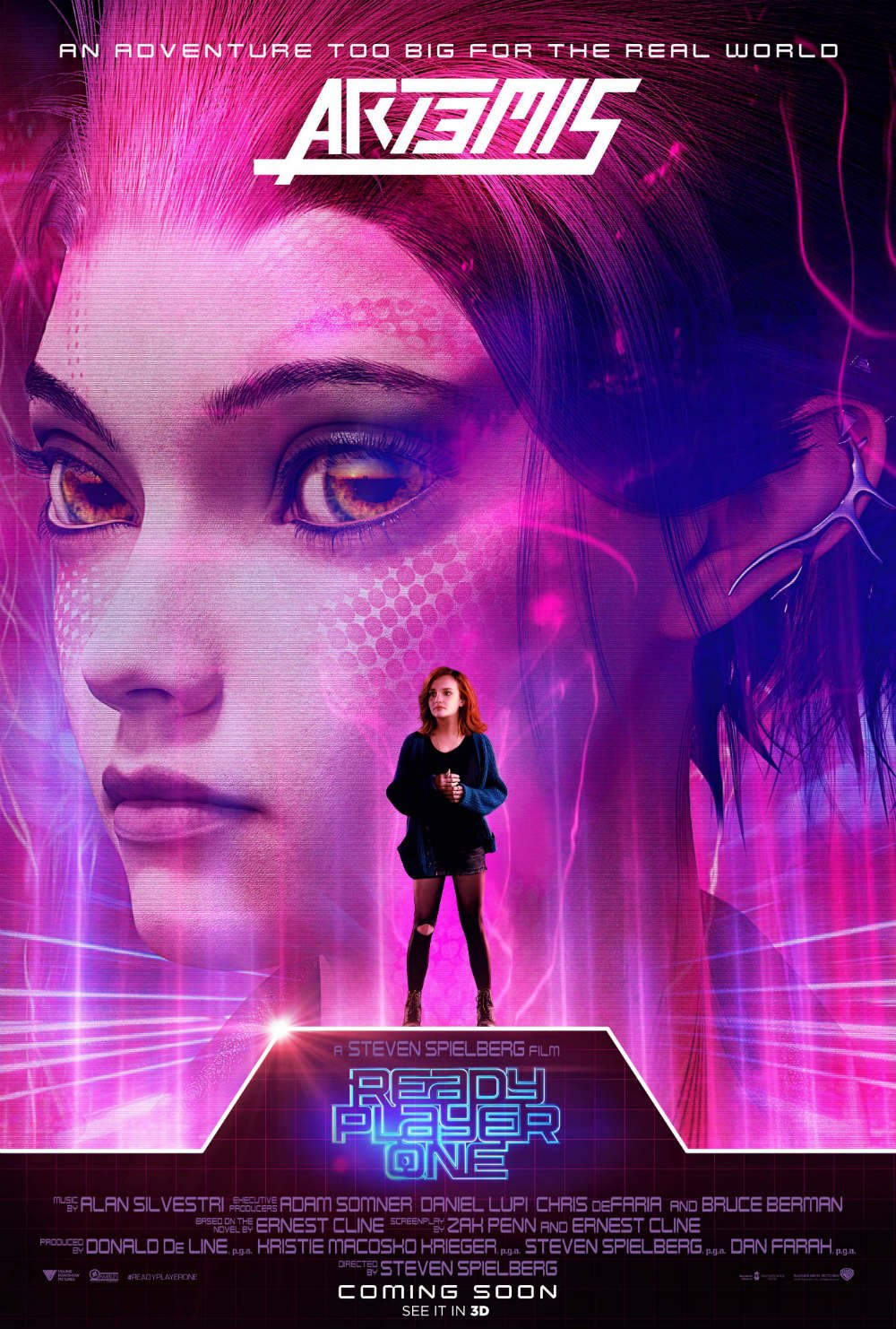Ready Player One Character Poster Artemis (Olivia Cooke) - OC Movie Reviews - Movie Reviews, Movie News, Documentary Reviews, Short Films, Short Film Reviews, Trailers, Movie Trailers, Interviews, film reviews, film news, hollywood, indie films, documentaries
