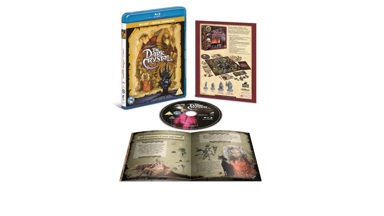 "The Dark Crystal Anniversary Blu-Ray Review – ""He's dead"", ""Could be anywhere, then"" - OC Movie Reviews - Movie Reviews, Movie News, Documentary Reviews, Short Films, Short Film Reviews, Trailers, Movie Trailers, Interviews, film reviews, film news, hollywood, indie films, documentaries"