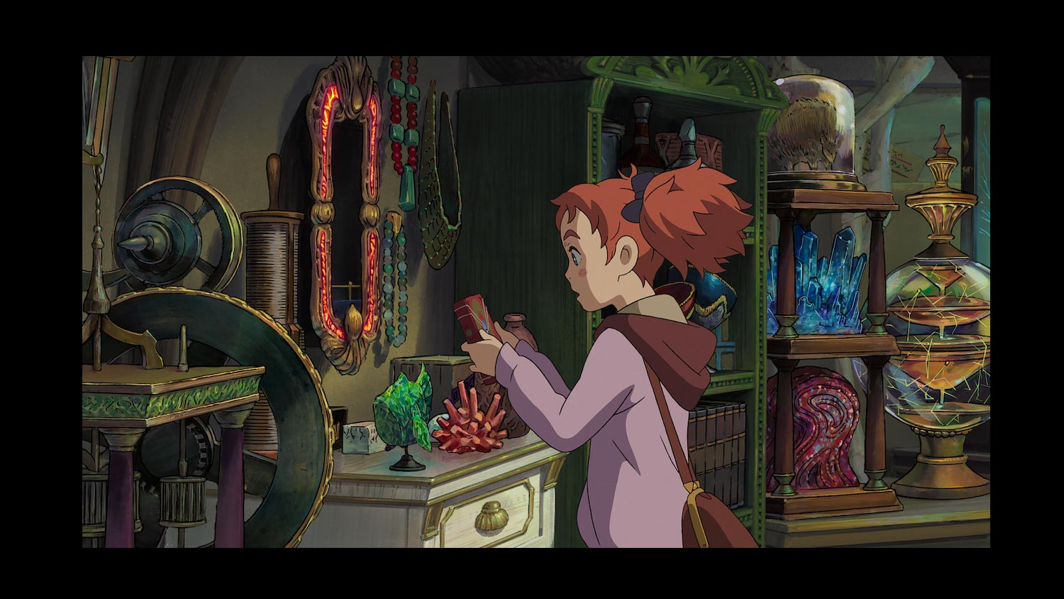 Mary And The Witch's Flower Review - OC Movie Reviews - Movie Reviews, Movie News, Documentary Reviews, Short Films, Short Film Reviews, Trailers, Movie Trailers, Interviews, film reviews, film news, hollywood, indie films, documentaries