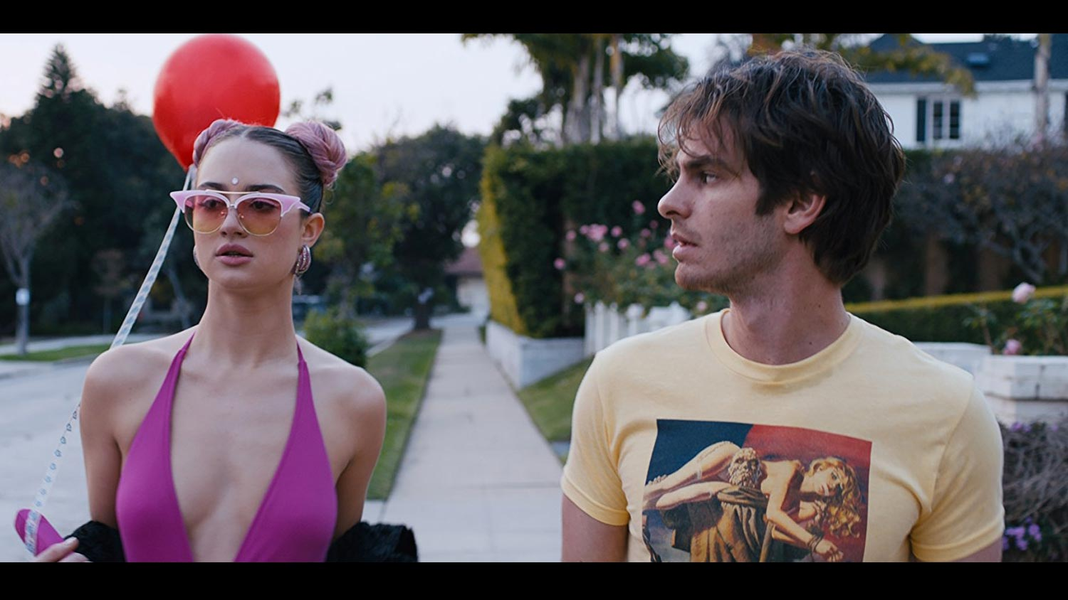 Under The Silver Lake Review – A Psychedelic Trip To Everywhere And Nowhere - OC Movie Reviews - Movie Reviews, Movie News, Documentary Reviews, Short Films, Short Film Reviews, Trailers, Movie Trailers, Interviews, film reviews, film news, hollywood, indie films, documentaries
