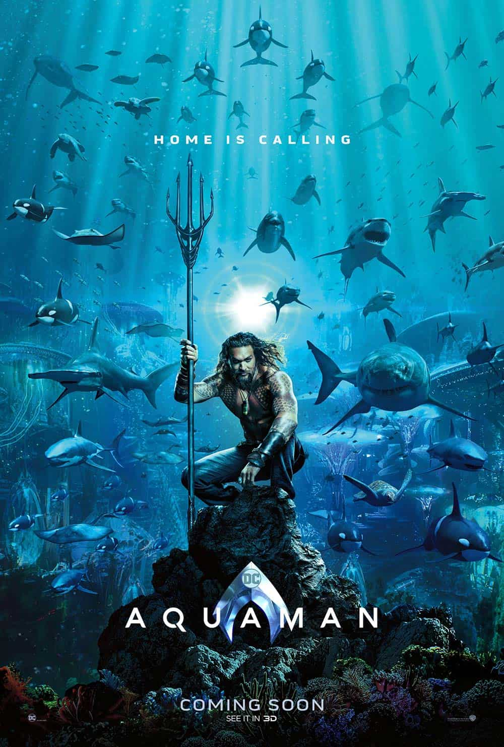 Aquaman Poster - OC Movie Reviews - Movie Reviews, Movie News, Documentary Reviews, Short Films, Short Film Reviews, Trailers, Movie Trailers, Interviews, film reviews, film news, hollywood, indie films, documentaries