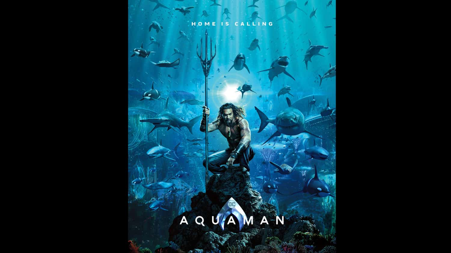 Aquaman – Official Teaser One-Sheet - OC Movie Reviews - Movie Reviews, Movie News, Documentary Reviews, Short Films, Short Film Reviews, Trailers, Movie Trailers, Interviews, film reviews, film news, hollywood, indie films, documentaries
