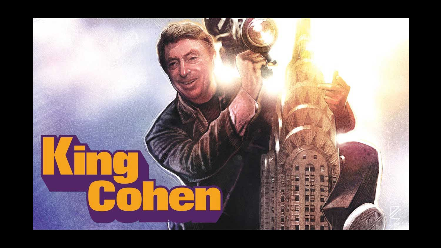 King Cohen: The Wild World Of Filmmaker Larry Cohen Review - OC Movie Reviews - Movie Reviews, Movie News, Documentary Reviews, Short Films, Short Film Reviews, Trailers, Movie Trailers, Interviews, film reviews, film news, hollywood, indie films, documentaries