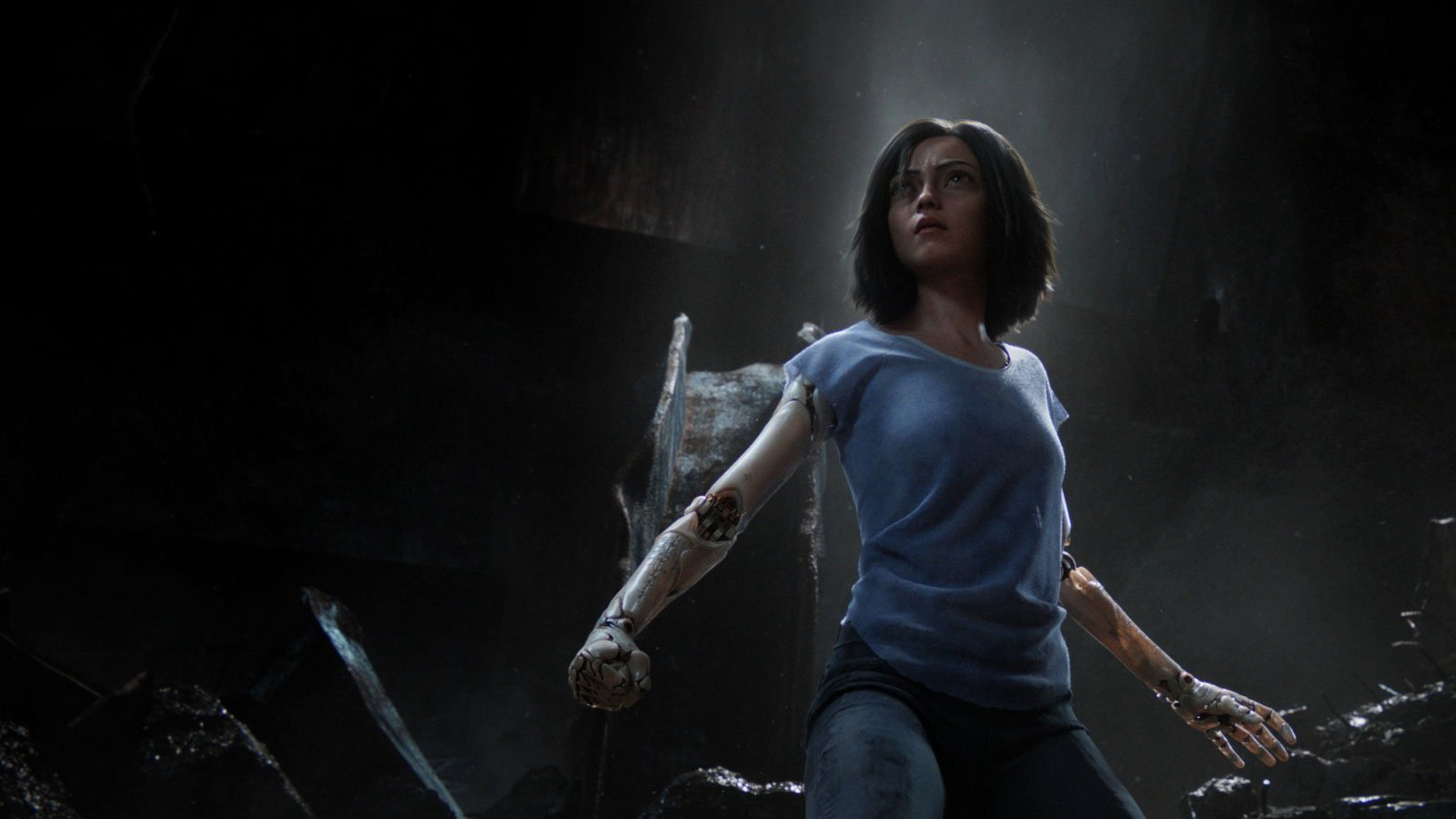 Alita: Battle Angel Review - OC Movie Reviews - Movie Reviews, Movie News, Documentary Reviews, Short Films, Short Film Reviews, Trailers, Movie Trailers, Interviews, film reviews, film news, hollywood, indie films, documentaries, TV shows