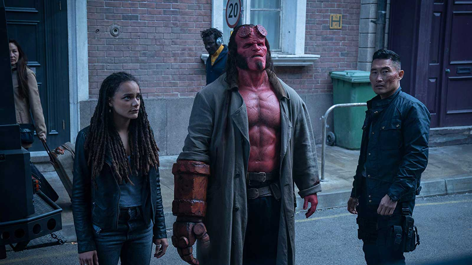 Hellboy Review - OC Movie Reviews - Movie Reviews, Movie News, Documentary Reviews, Short Films, Short Film Reviews, Trailers, Movie Trailers, Interviews, film reviews, film news, hollywood, indie films, documentaries, TV shows