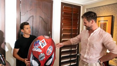 Chris Hemsworth and Tom Holland Interview - OC Movie Reviews - Movie Reviews, Movie News, Documentary Reviews, Short Films, Short Film Reviews, Trailers, Movie Trailers, Interviews, film reviews, film news, hollywood, indie films, documentaries, TV shows