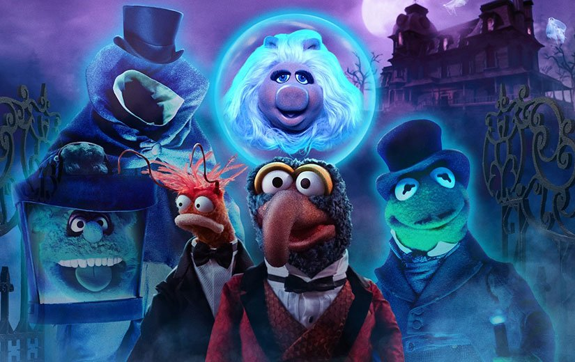 Muppets Haunted Mansion Review - OC Movie Reviews - Movie Reviews, TV Reviews, Streaming Reviews, Amazon Prime, Netflix, Apple TV, Movie News, Documentary Reviews, Short Films, Short Film Reviews, Trailers, Movie Trailers, Interviews, film reviews, film news, hollywood, indie films, documentaries, TV shows